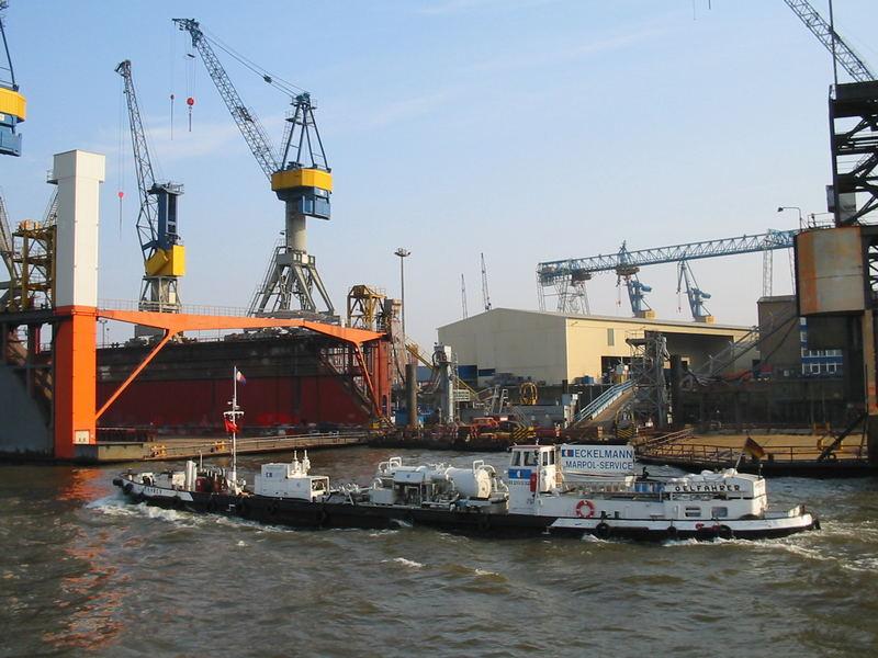 Dock Blohm & Voss in Hamburg