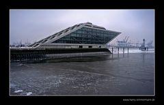 Dockland im Winter
