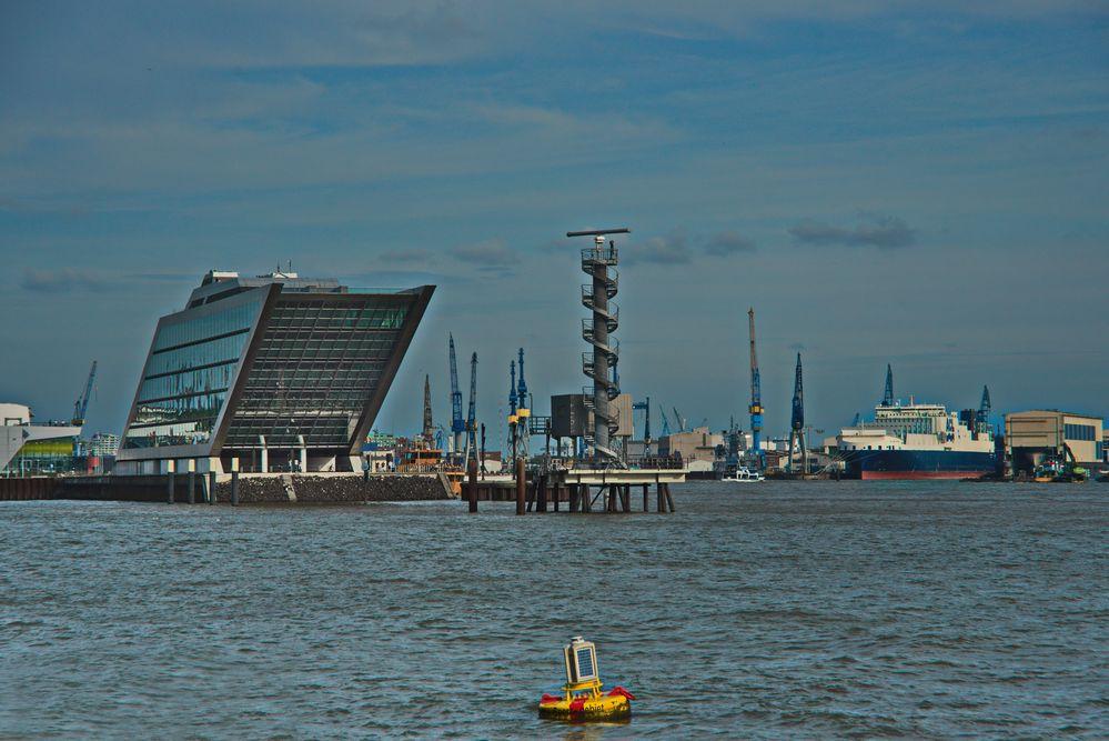 Dockland mit Radarturm reload