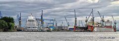Docks, im Hamburger Hafen