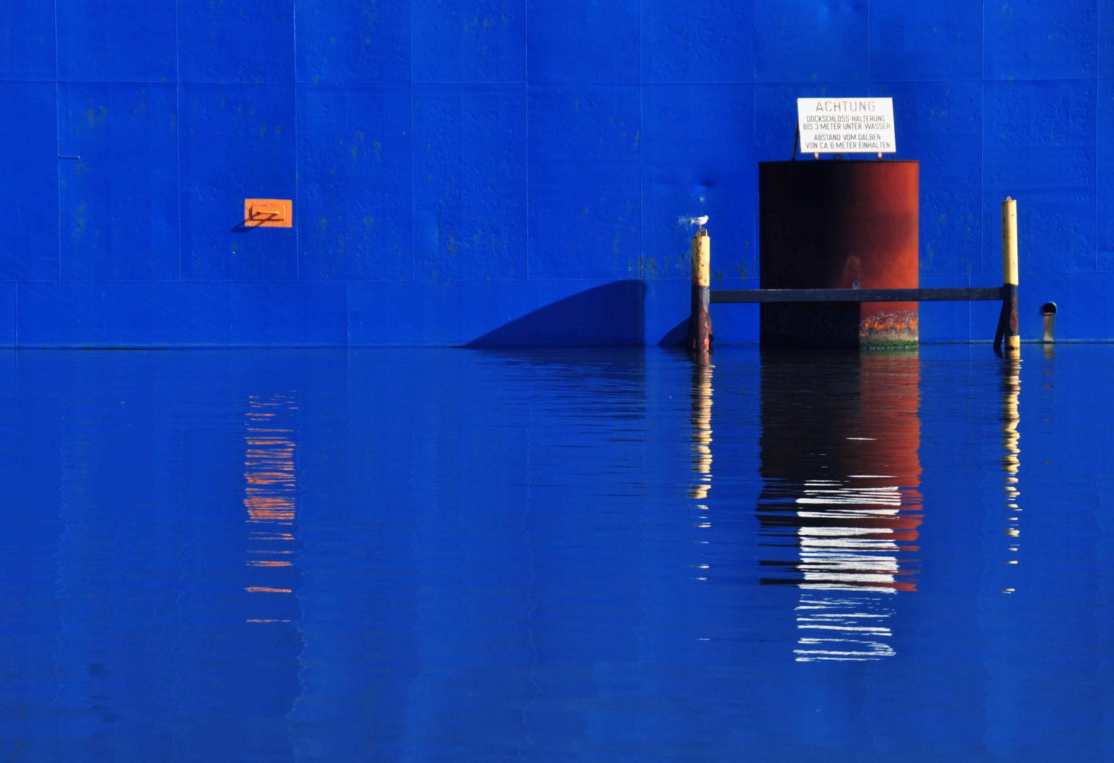 Dockschloss-Halterung