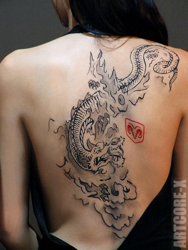 Dodge Branding | Marken-Tattoo