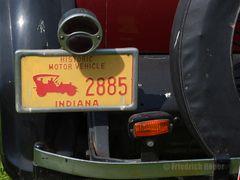 Dodge Nummernschild