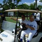 Dodgers Great Tommy Lasorda At Spring Training