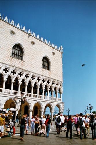 Doge Palast in Venedig