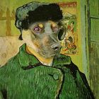 Doghito as Van Gogh