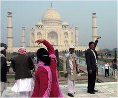 Doing the Taj Mahal