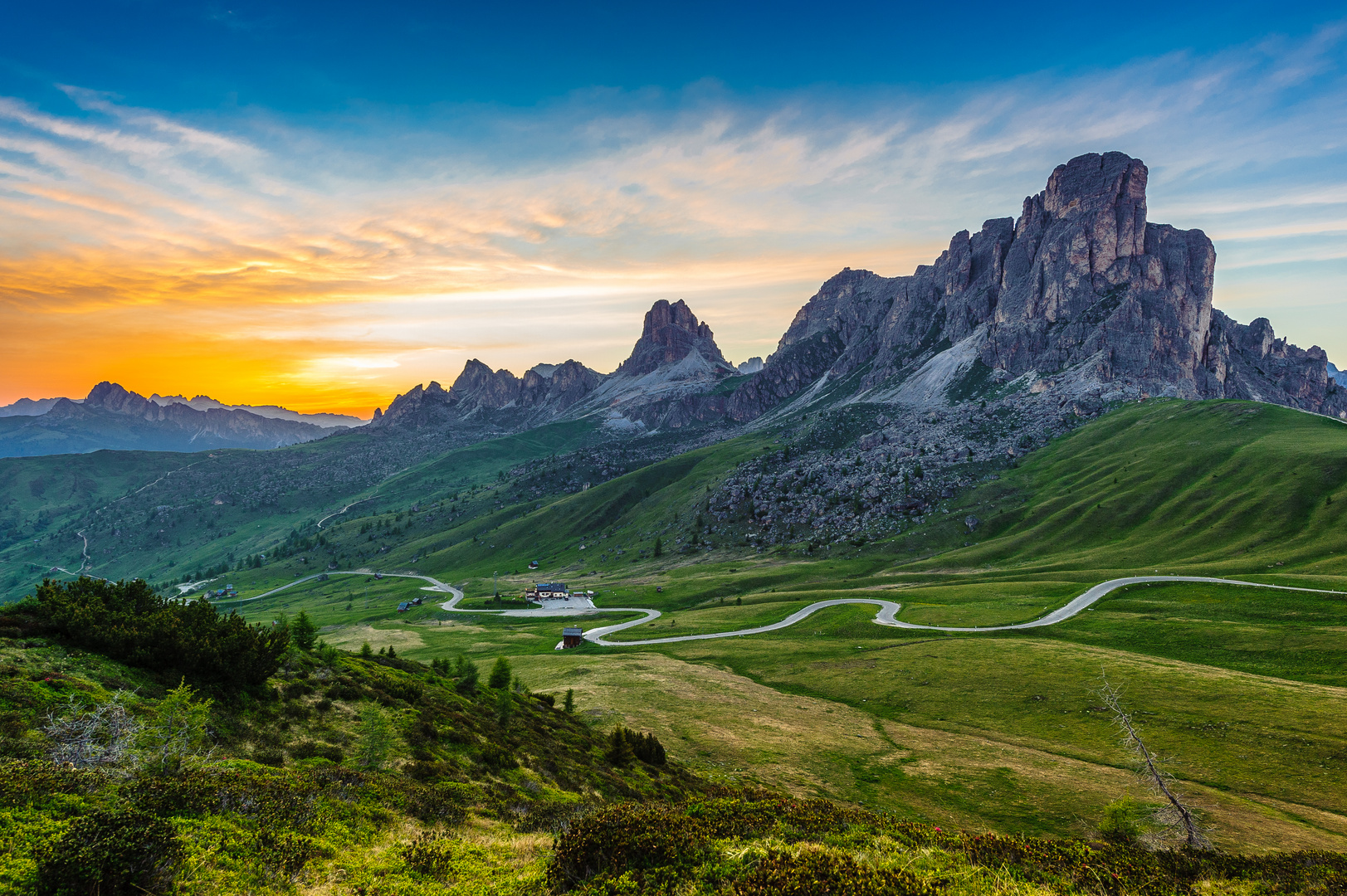 Berge Dolomiten