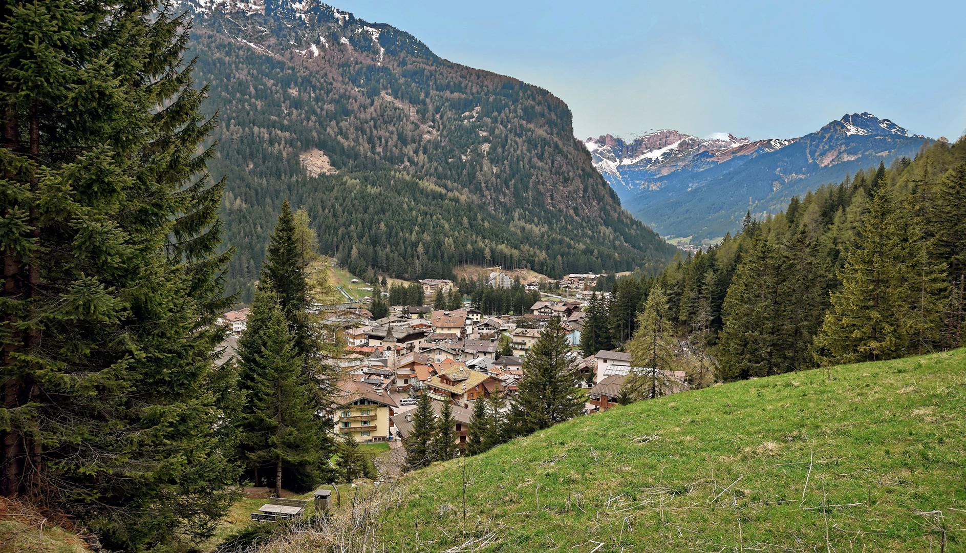Dolomiten - auf den Weg nach Italien -