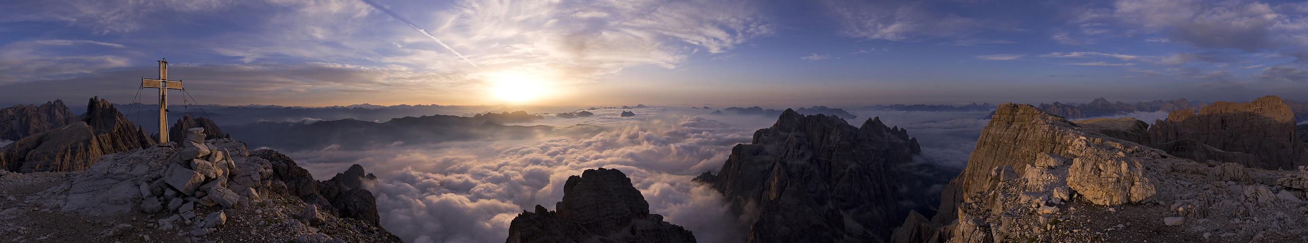 Dolomiten-Morgen