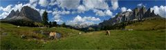 Dolomiten-Panorama