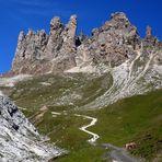 Dolomiten - Roßzähne am Schlernmassiv