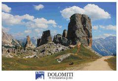 DOLOMITI - 5 Torri
