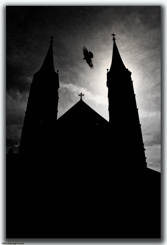 Dom Bamberg bei Nacht