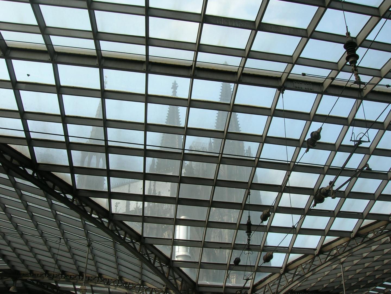 Dom durch Dach Hauptbahnhof