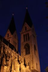 Dom Halberstadt bei Nacht