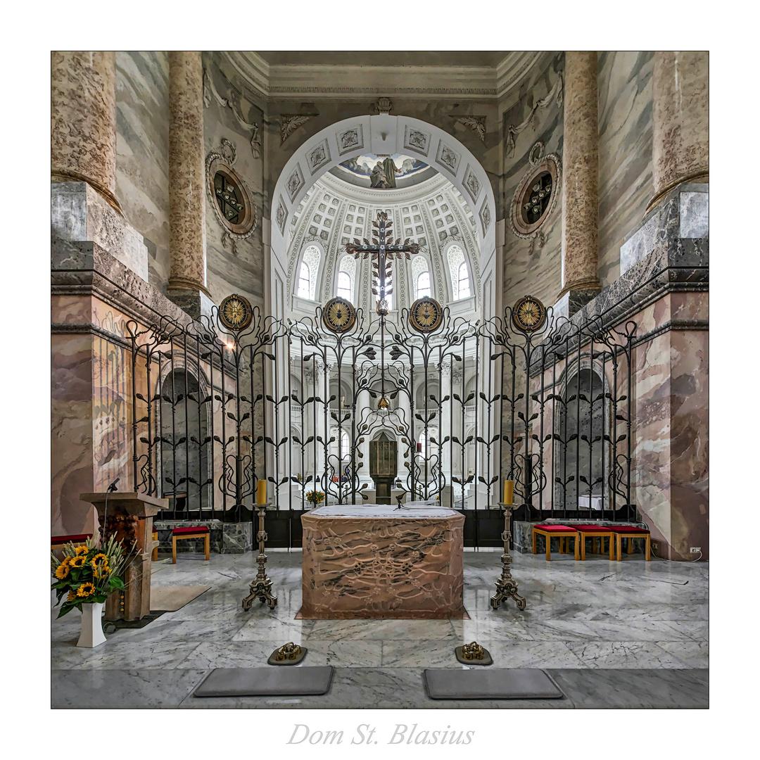 """Dom St. Blasius-Schwarzwald """" Gott zu Gefallen..."""""""