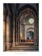 """Dom St. Peter (Osnabrück) """" Blick in den Seitenschiff..."""""""