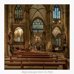 """Dom St. Peter_Regensburg """" Gott zu Gefallen..."""""""