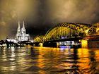 Dom und Hohenzollernbrücke mal anders...