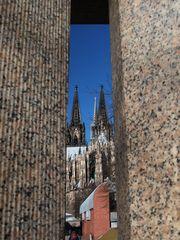 Dom zu Köln aus einer etwas anderen Perspektive