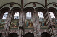 Dom zu Speyer – Mittelschiff.