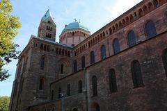 Dom zu Speyer - Nordseite (Blick nach Osten)