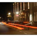 Domburg, Koetshuis bei Nacht