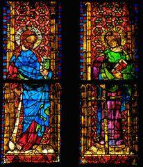 Domfenster im Dom zu Regensburg