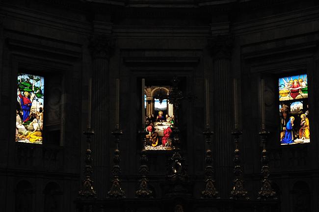 Domfenster in Como