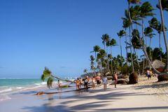 Dominikanische Republik - Strandleben