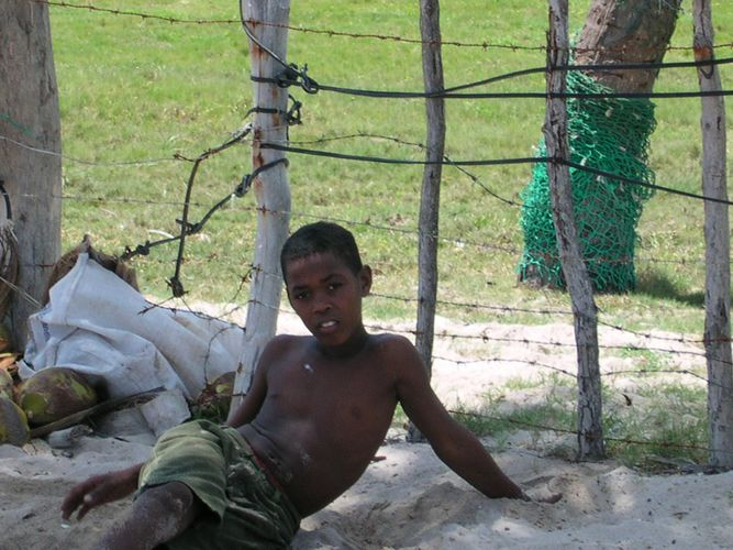 Dominikanischer Junge