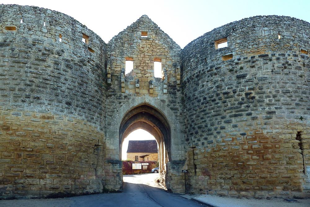 Domme - an der Dordogne