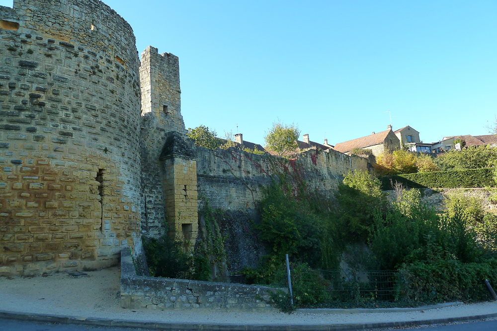 Domme - Stadtmauer
