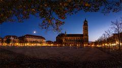 Domplatz Panorama / Magdeburg