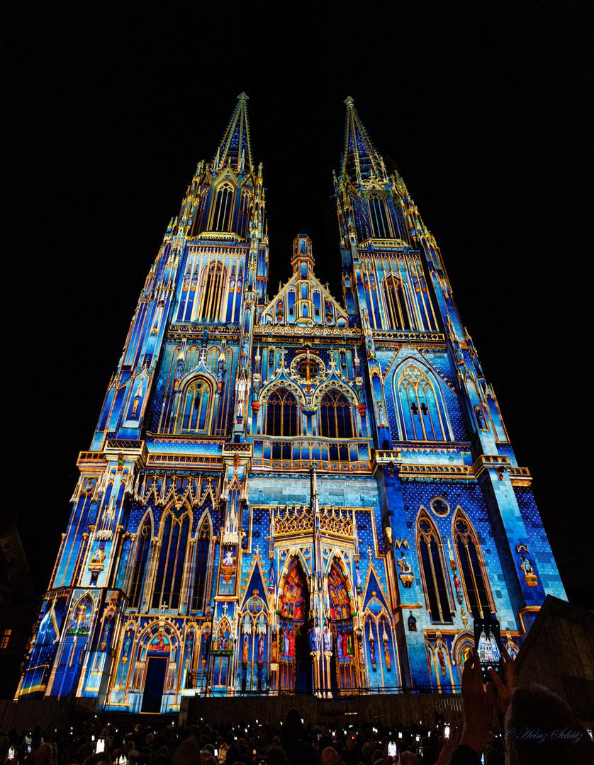 Dom Regensburg Illumination