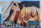 Dona dormint, un mural de 4m.