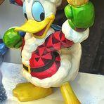 Donald Duck als Weihnachtsmann