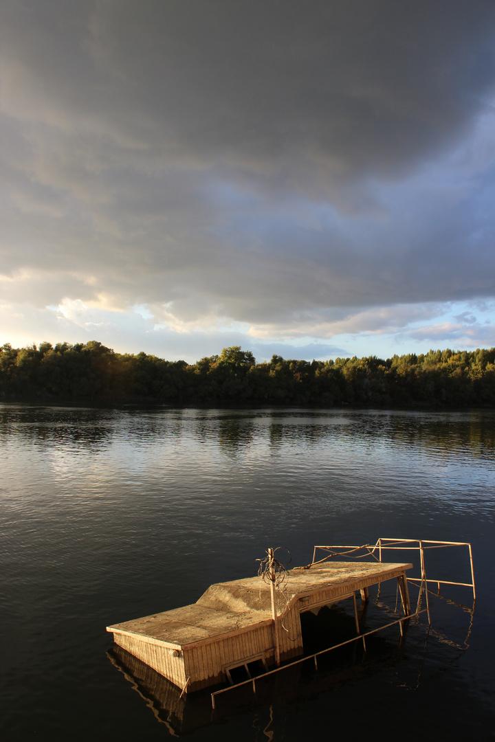 Donau bei Belgrad