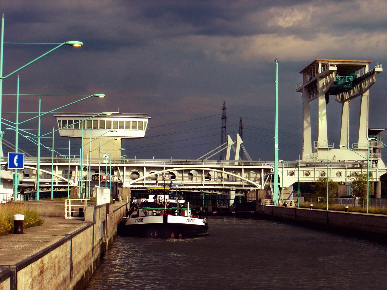 Donauschleusse Wien