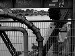 Donauside - verbauter Blick
