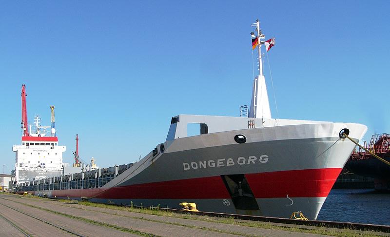 Dongeborg / Stückgutfrachter