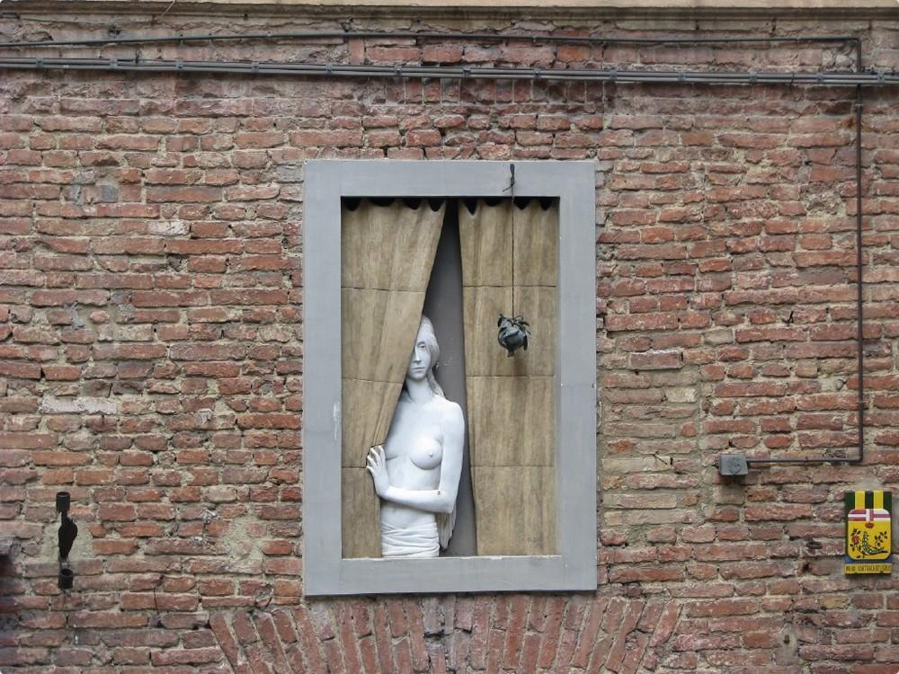 Donna alla finestra...