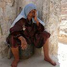 donna berbera di chenini sud tunisia