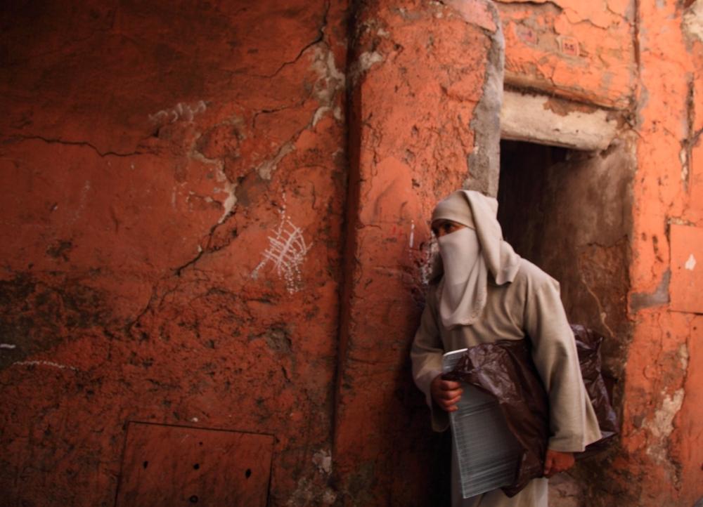 Donna di Marocco