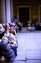 donne in moschea