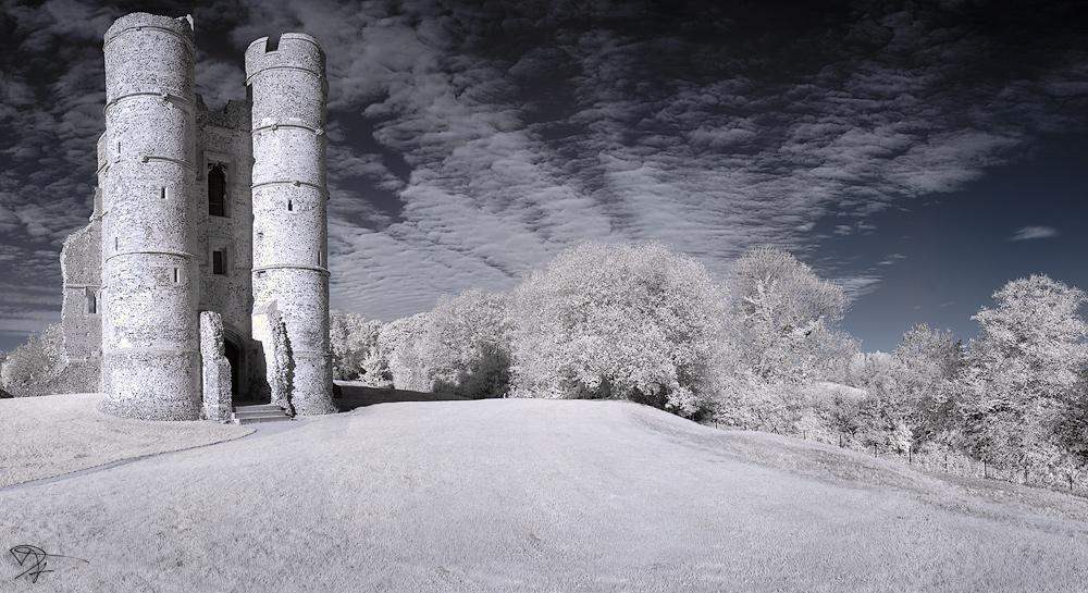Donnington Castle Panorama