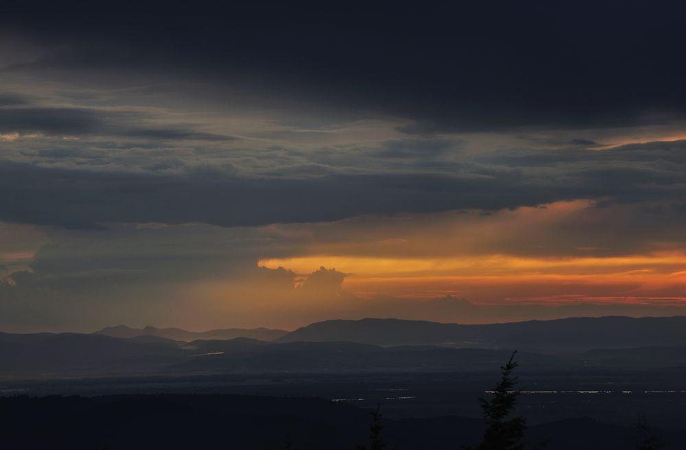Donon sunset