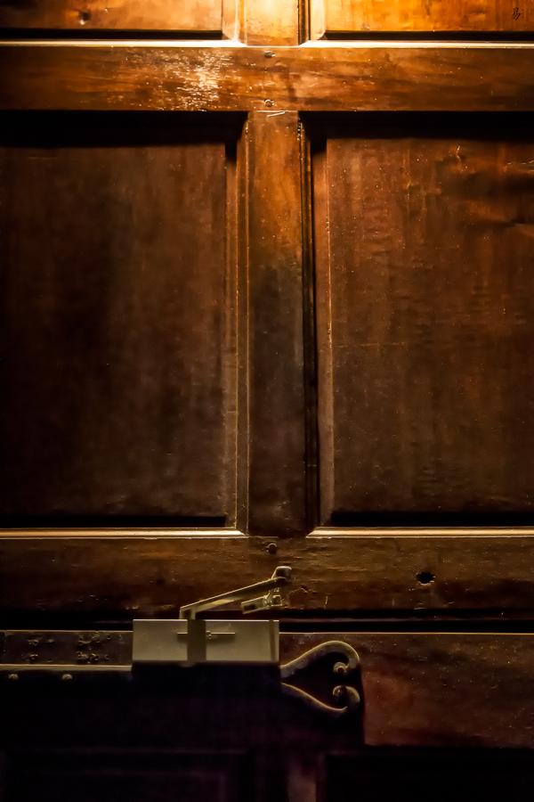 door & light