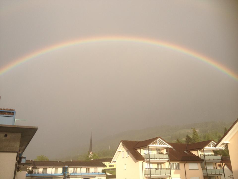 Doppel Regenbogen